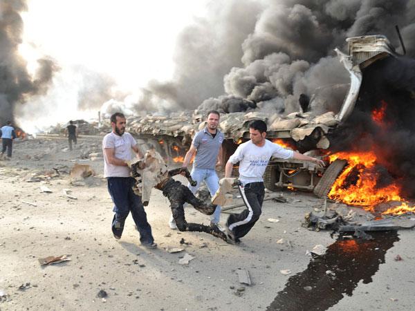 Los atentados con bomba en Siria son cosa de todos los días