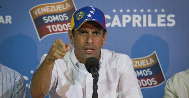Capriles pidió auditoría, pero ahora quiere otra cosa.