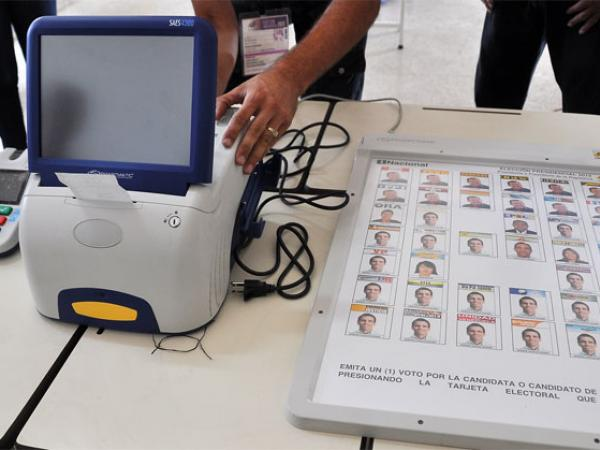 El sistema electoral de Venezuela es totalmente automatizado.