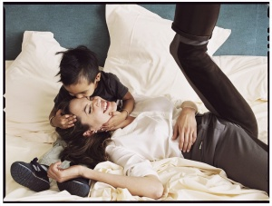 Annie Leibovitz - Angelina Jolie and son Maddox