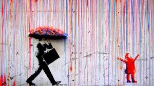 felicidad pintura