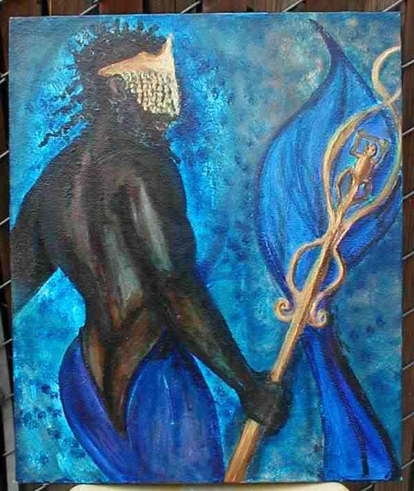 Olokun, es la deidad regente este año, según los sacerdotes de la Regla de Osha.