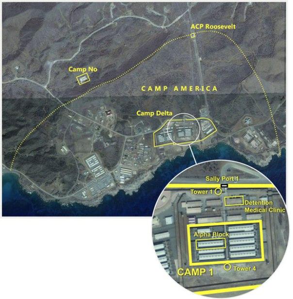 La presencia del Campo 7 es muy secreta, lo más conocido es el Camp Delta