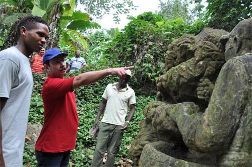 Del Zoológico de Piedra, Monumento Nacional, quiere saberlo todo.