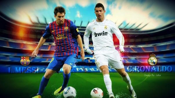 Messi y Cristiano,